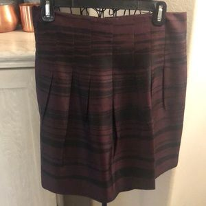 Silk Banana Republic A-Line Skirt